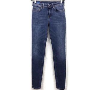 Acne Studios Bla Konst Skinny Climb Mid Jeans